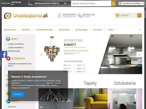 Urzadzajtanio.pl oświetlenie obrazów
