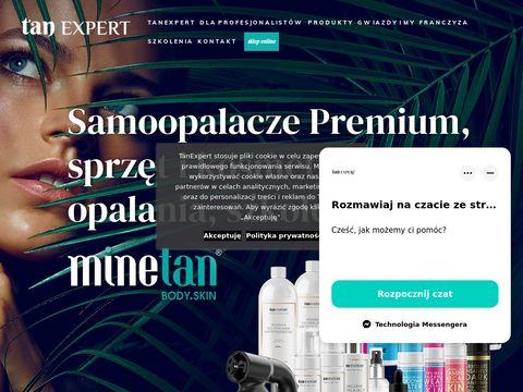 Tanexpert.pl kurs opalania natryskowego