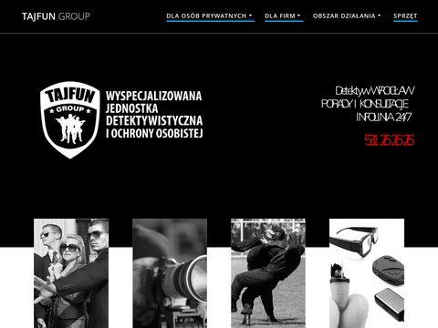 Tajfungroup.pl detektyw Wrocław
