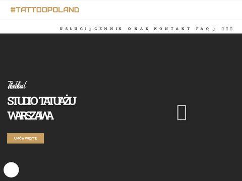 Tattoopoland.com studio tatuażu w warszawie
