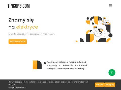 Tincors Polska relokacja maszyn