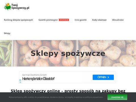 Twojspozywczy.pl gazetki promocyjne