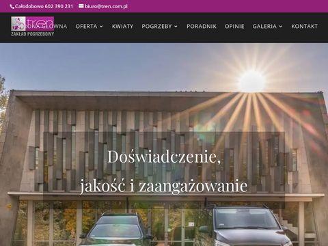 Tren.com.pl zakład pogrzebowy Wola