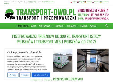 Transport-owo.pl firma przeprowadzkowa Pruszków