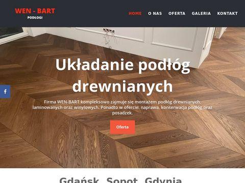 Wen-bart.pl - układanie podłóg Gdynia