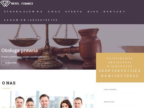 Wexel.pl odzyskiwanie długów Kraków