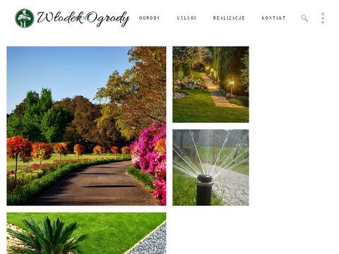 Wlodekogrody.pl zakładanie ogrodów