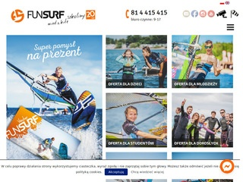 Windsurfing.com.pl kursy kitesurfing szkoła kite