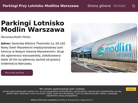 Parking-modlin62.pl nowoczesny