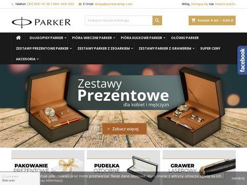 Parkersklep.com pióra wieczne i kulkowe