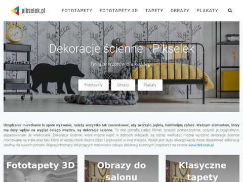 Pikselek.pl fototapety 3D