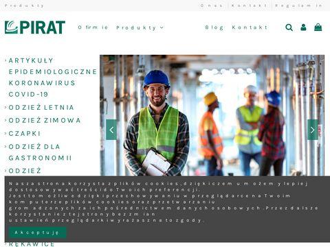 Pirat.waw.pl producent odzieży roboczej