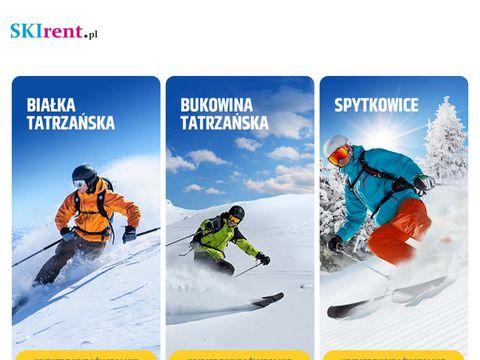 Skirent.pl wypożyczalnia sprzętu zimowego