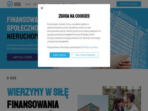 Social.estate oferty nieruchomości komercyjnych