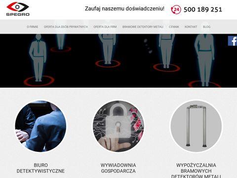 Spegro.pl detektyw w Gdańsku
