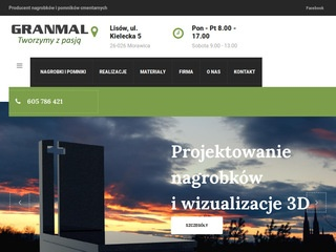 Szczerba-granit.pl pomniki cmentarne