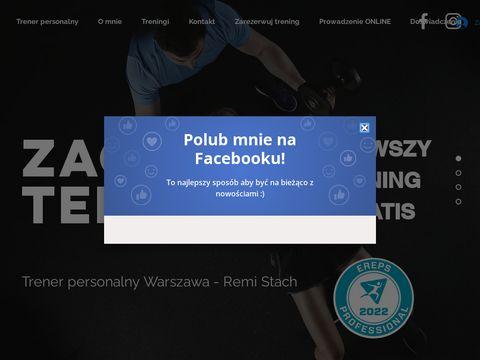Remistach-fitness.com trener personalny Warszawa