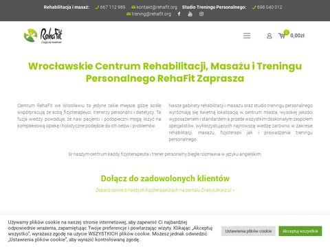 Rehafit.org centrum rehabilitacji