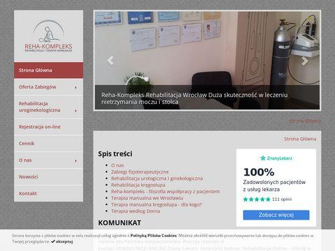 Reha-kompleks.pl rehabilitacja Wrocław