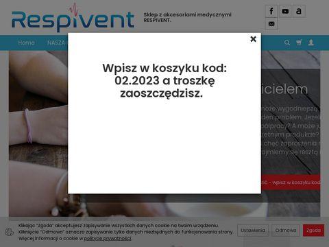 Respivent24.pl sklep ze sprzętem medycznym