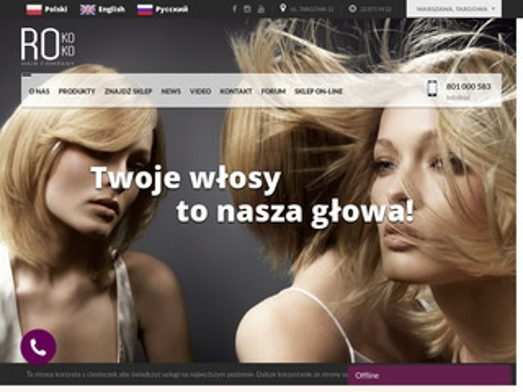 Rokoko.com.pl peruka naturalna