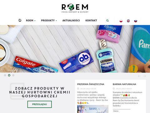 Roem.pl hurtownia chemiczna