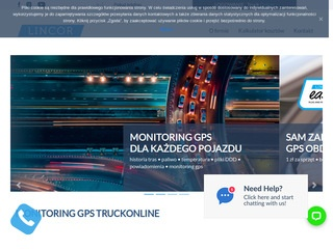 Truckonline.pl GPS monitoring