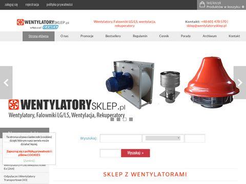 Wentylatorysklep.pl rekuperatory