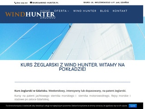 Wind-hunter.pl szkolenia żeglarskie i kursy