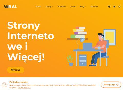 Wiral.com.pl strony internetowe
