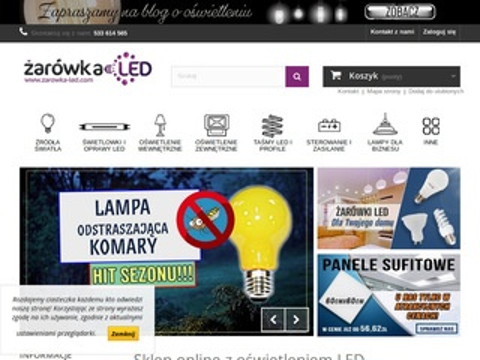 Zarowka-led.com sklep z oświetleniem