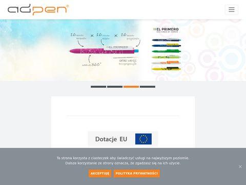 Adpen.com.pl długopisy reklamowe z logo