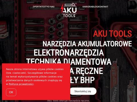 AKU Tools - narzędzia ręczne artykuły bhp