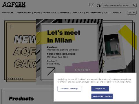 Aqform.com lampy