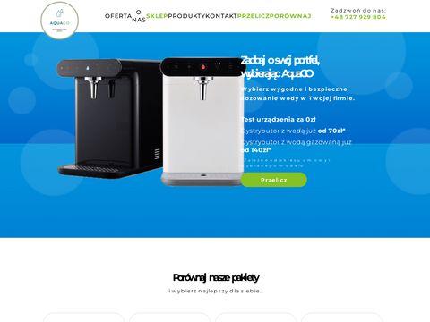 Aquago.com.pl dystrybutory wody dla firm