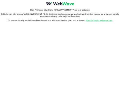 Arka Investment