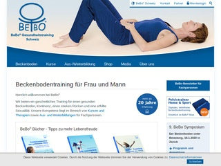 Beckenboden.com BEBO trening dna miednicy