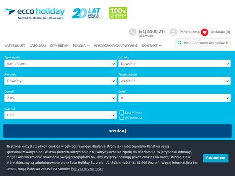 Eccoholiday.com biuro podróży