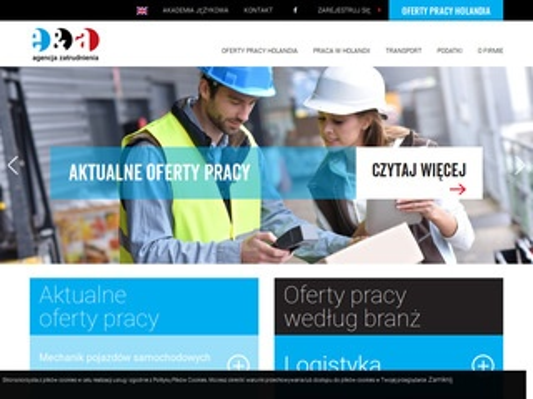 Eena.pl biuro pośrednictwa pracy E&A