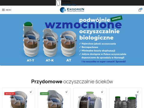 Ekodrensklep.pl systemy deszczowo-ściekowe