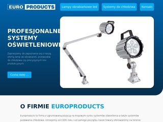 Europroducts.pl lampy do obrabiarek