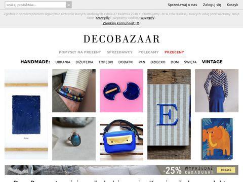 Decobazaar.com produkty handmade sklep