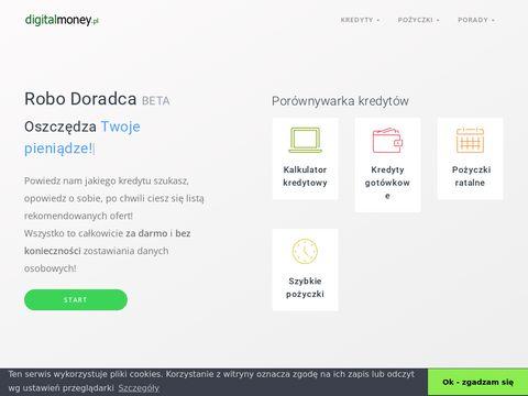 Digitalmoney.pl -porównywarka kredytów