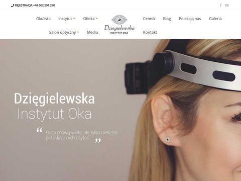 Dziegielewska.eu klinika okulistyczna