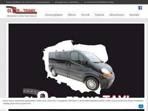 Glob-trans.mielec.pl usługi taxi