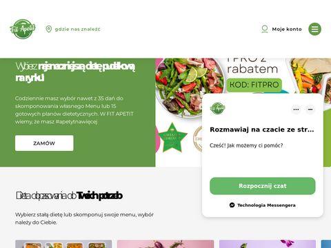 Fitapetit.com.pl catering wegański Szczecin
