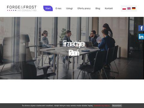 Forge&Frost agencja rekrutacyjna Poznań