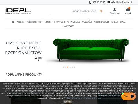 Idealmeble.pl sofy chesterfield uszak