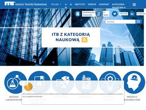 Itb.pl Instytut Techniki Budowlanej