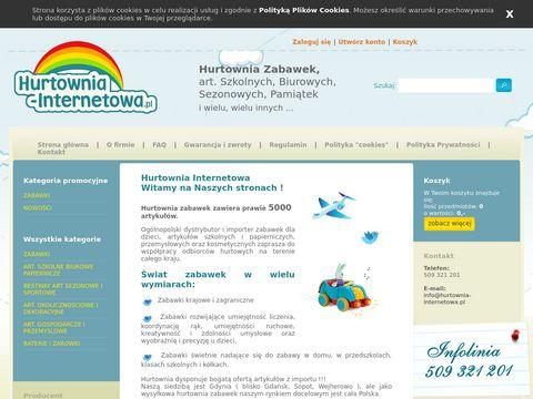 Hurtownia-internetowa.pl zabawki Gdynia